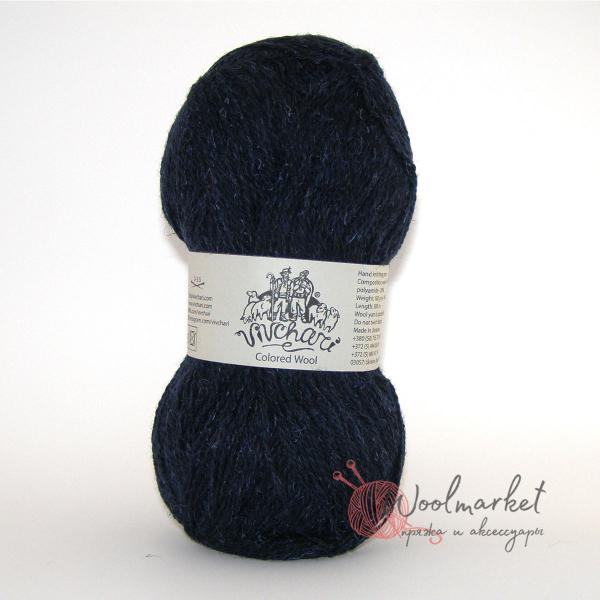 Vivchari Colored Wool темно-синий 809