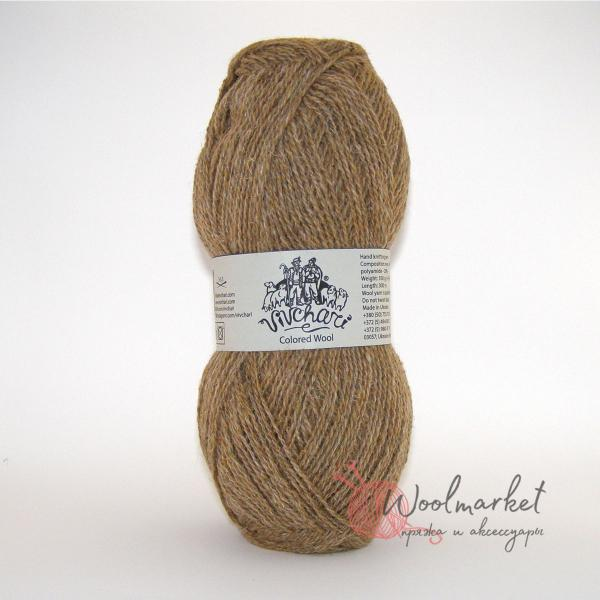 Vivchari Colored Wool темный беж 803